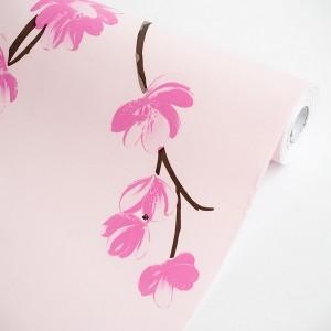 Pink Magnolia - Wallpaper Home Decor